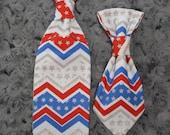 Patriotic Dog Tie