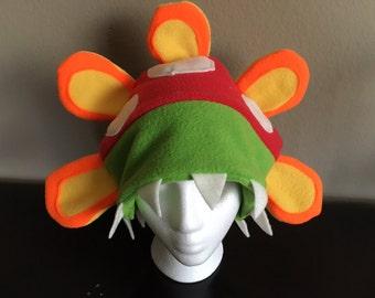 Super Mario Sunshine Petey Piranha Fleece Hat