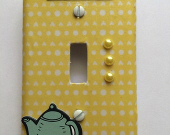 Teapot light switch cover