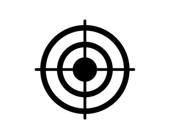 Bullseye, Target, Scope - Car/Truck/Home/Laptop/Computer/Phone Decal