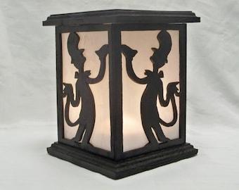 Dr. Seuss A wooden lantern