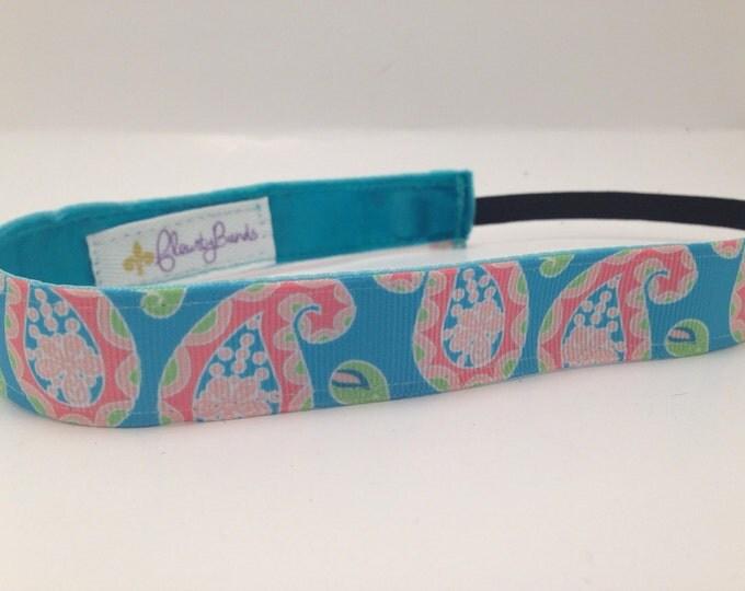 Nonslip Headband Pastel Paisley