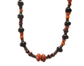 Wooden Handcrafted Necklace