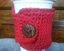 Apple Red Coffee Travel Cup Cozy