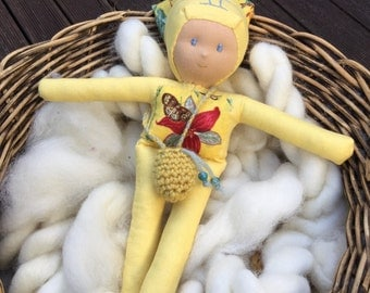 Gemini; Zodiac Kids. Handmade Waldorf Inspired Dolls