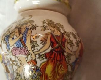 Perfume Bottle Bottle with Oil Balm Perfume Greek MiddleEastern Roman Enamel Lovers