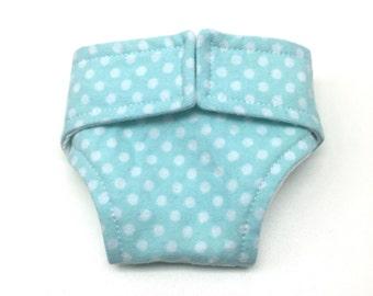 Doll Diaper - Reusable Doll Diaper - Cloth Diaper - Baby Doll Diaper - 15 Inch Doll Diaper - Pretend Play Doll Diaper - Easter Basket