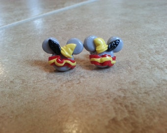 Dumbo Mickey Mouse Inspired Earrings