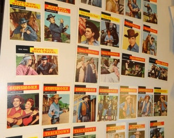 1958 Topps TV Western Trading Cards