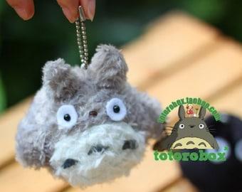 Totoro, Mini White Totoro, & Soot Ball Stuffed Animal