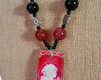 Divine Secrets Cameo Necklace