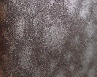 Black Textured Silky Charmeuse Fabric-By-The-Yard