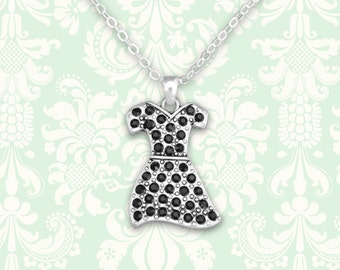 Little Black Dress Necklace - 53116