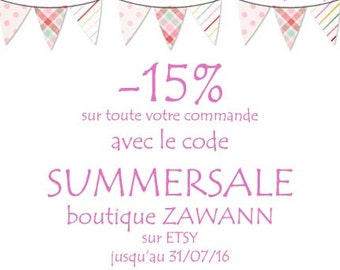 BALANCES-15% off any ZAWANN shop with code SUMMERSALE