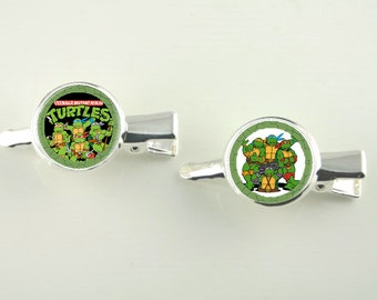 Animated Characters Silver Hair Slides Two in set V4702