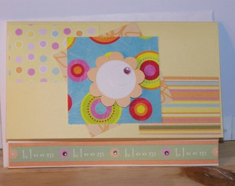 Any Occasion Card - bloom yellow