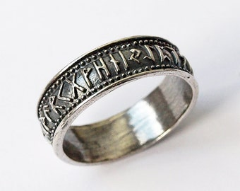 nordic jewelry norse rings norse jewelry rune ring elder futhark rune jewelry viking ring viking jewelry runes runic jewelry - Norse Wedding Rings