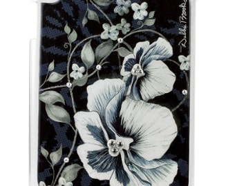 Woman Ipad case cover, Ipad case cover for me, Brother Ipad case cover, Debbie Brooks Ipad 3 Cover, Black and White Flower, Craft supply