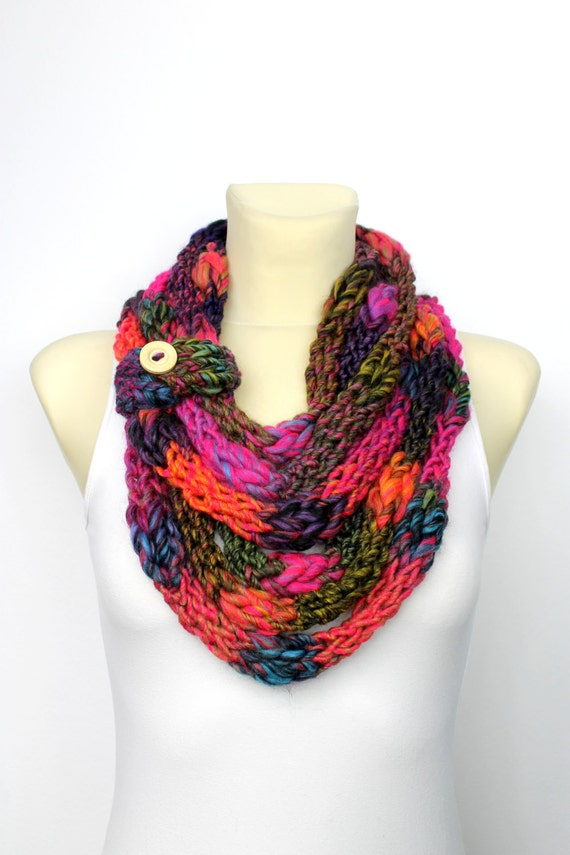 unique handmade scarves gift for knit scarf birthday gift