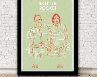 Bottle Rocket movie poster - Wes Anderson - 1996
