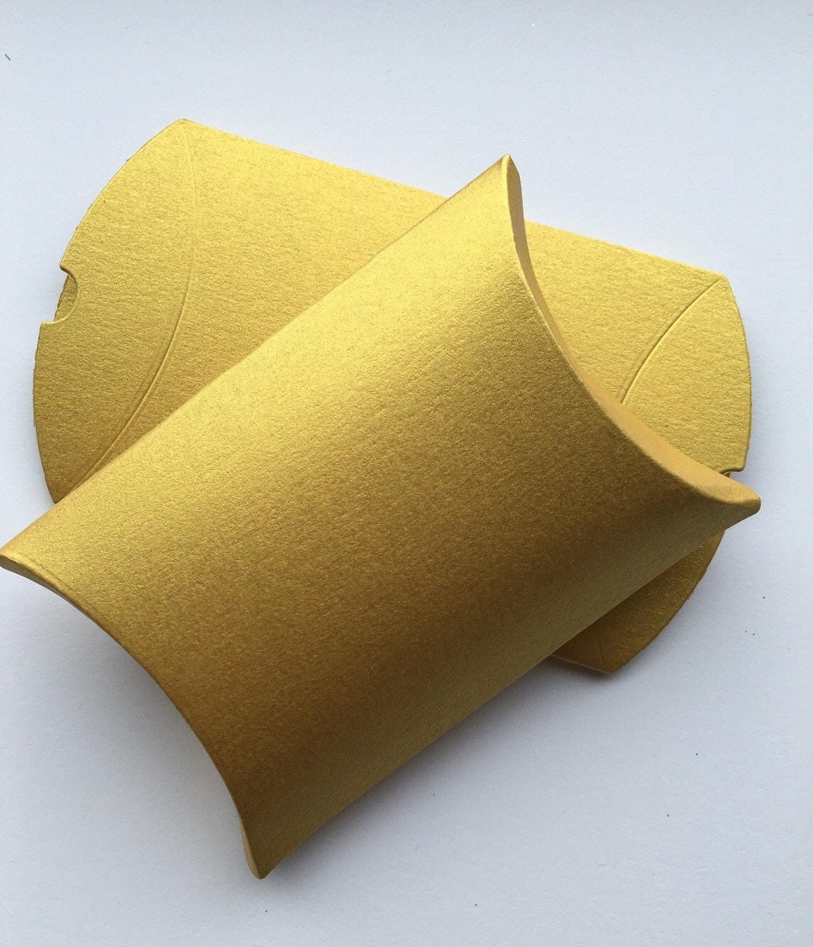 Gold Pillow Favor Boxes : Gold favor pillow boxes indian candy box