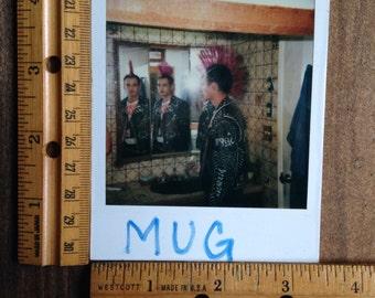 Vintage Punk Mohawk Polaroid