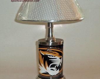 Missouri Tigers Desk Lamp