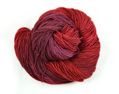 Hand Dyed Sock Yarn - Winter Berry - Superwash Merino/Cashmere/Nylon
