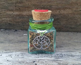 Very small Witch Bottle, traditional witchcraft, threshold magic, European folk magic, gypsy magic, English folklore, new home gift