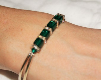 Swarovski Crystal May Birthstone Bracelet