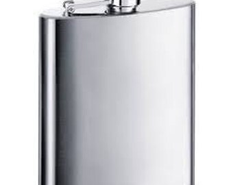 9oz Stainless Steel Flask
