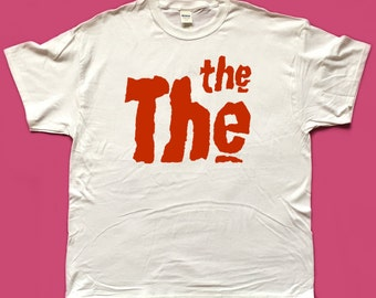 THE THE screen printed T SHIRT