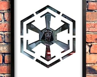 Star Wars Logo Art - Sith Logo - Darth Vader