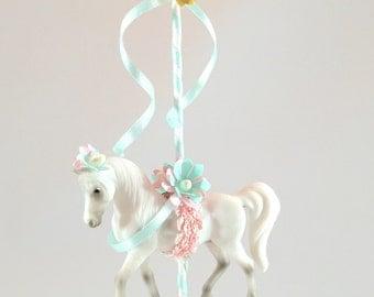 Carousel Horse cake topper