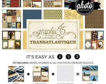 Graphic 45: Transatlantic Kit