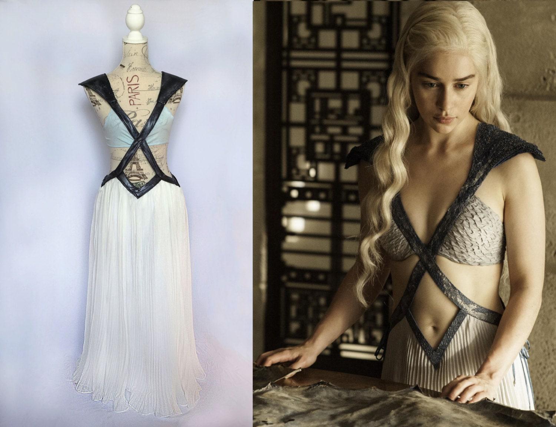 Fantasy Cut Out Costume Season 4 Dress Diamond Dragon Game Of Thrones Missandei Costume