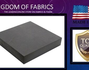 "Professional 5"" X 36"" X 72"" Upholstery Foam Cushion Charcoal"