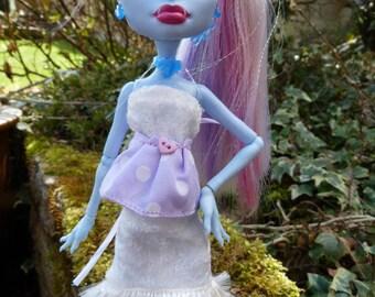 Handmade dress for your Monster High doll