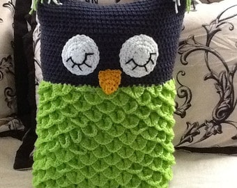 Sleeping Owl Pillow