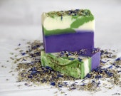Lavender Scented Coconut Natural Soap (The Purple Bar)