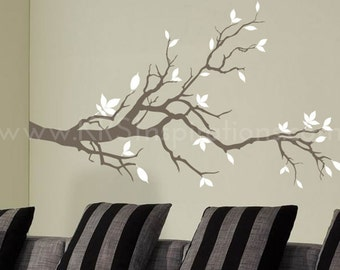 Leafy Branch Wall Decal