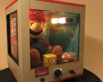 "Super Mario Robot  - Animated NES Machine - "" The Mario Wish Granter""- *Handmade*"