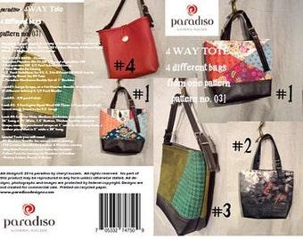 4 Way Tote by Paradiso