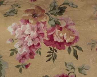 Traditional Floral - Upholstery Fabric by the Yard