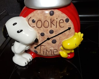 Snoopy Time Clock