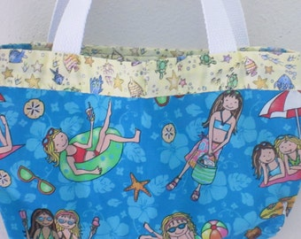 childrens beach tote, beach tote, childrens beach bag, beach bag, durable, lightweight, washable, quality designed
