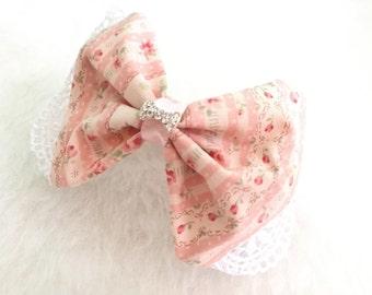 Flower Bow Bracelet