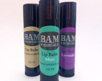 Natural Lip Balm, Organic Lip Balm, Organic Lip Balm Flight, Lip Balm, Natural Lip Balm, Coconut Oil Lip Balm, Shea Butter