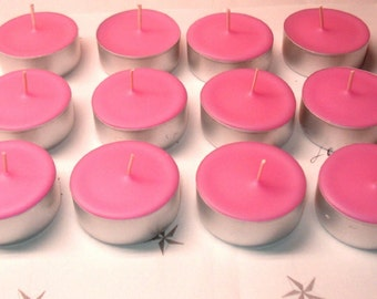 Choose Your Fragrance 12 Pack of Soy Tealight Candles