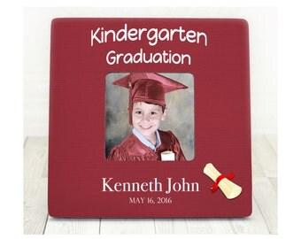 Preschool Graduation, Kindergarten Graduation, Graduation Picture Frame, Gift for Graduate, Graduation Gift, Graduation 2016, Graduate